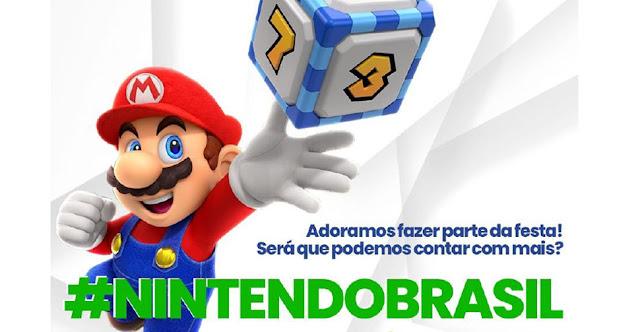 #NintendoBrasil: campanha por mais jogos em português vira trending topics nas redes sociais
