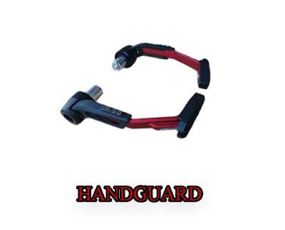 Apakah Handguard (Pelindung Tangan) Hanya Aksesoris Pada Motor ?