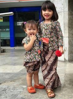 Model Kebaya Batik Anak