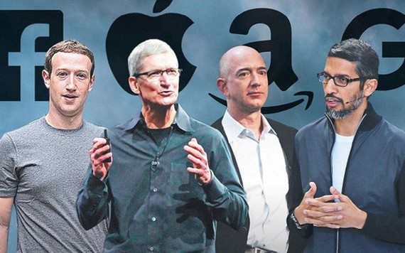 Apple, Facebook, Google And Amazon CEO To Testify Before Congress