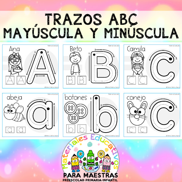 trazos-abecedario-mayuscula-minuscula