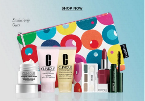 Hudson's Bay Clinique Free Gift With Purchase