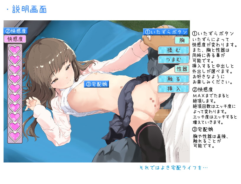 We Have a Female Package For You! (お届け!宅配娘!)