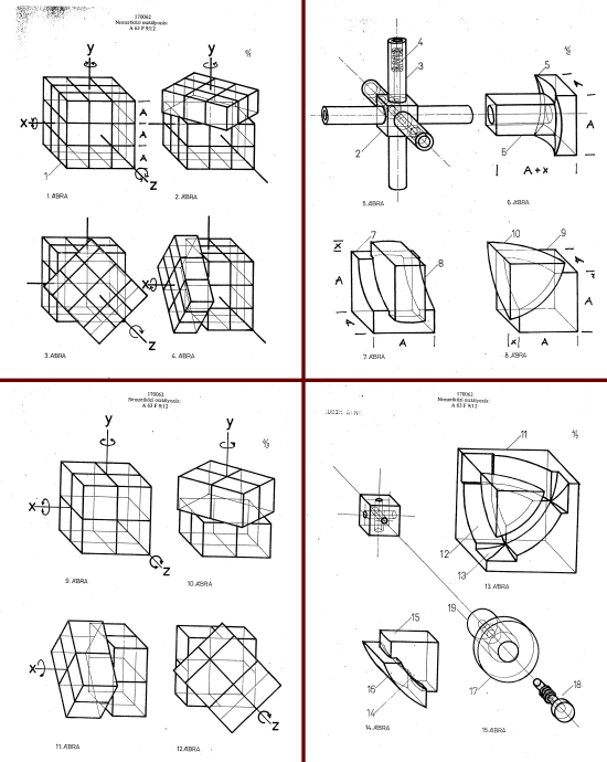 Rubik's Cube Patent