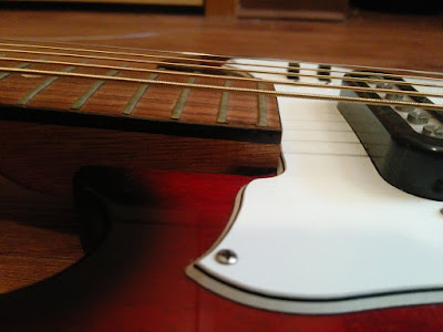 Teisco Melodier Vintage Japanese Guitar Action