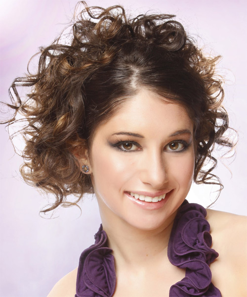 Dewi Image: Casual Updo Long Curly Hairstyles