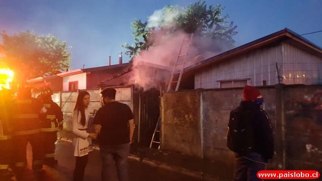 Osorno - incendio