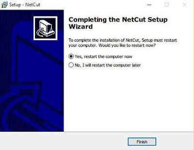 Cara menggunakan NETCUT