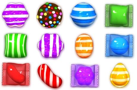 Candy Crush Bonbons