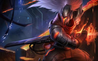 League of Legends Yasuo Sword - Fond d'écran en Full HD 1080p