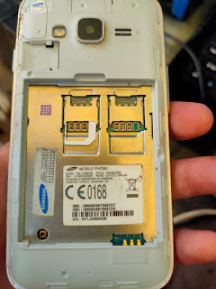 Cara Bypass frp Samsung J106B J1 Mini Prime via Odin