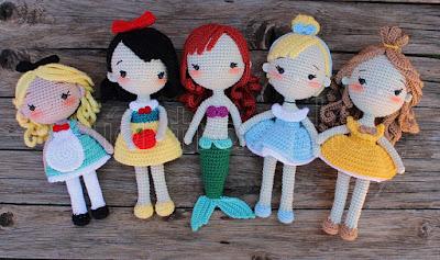 Princesas amigurumi
