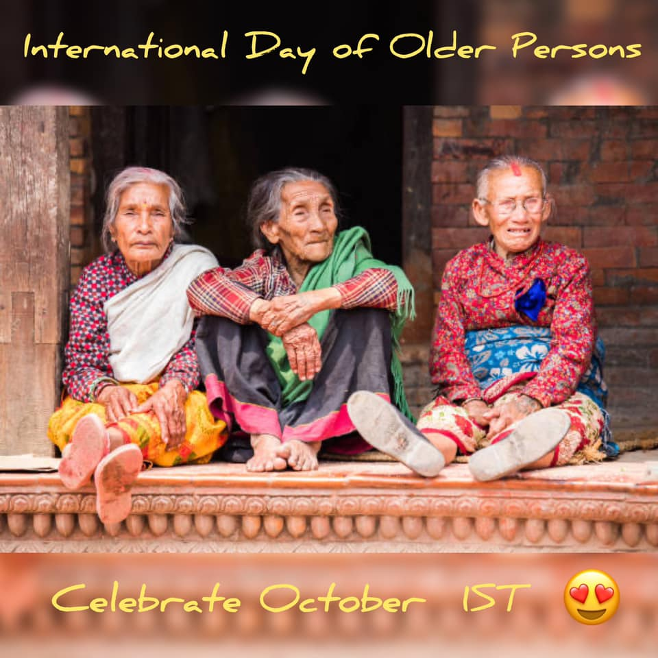 International Day of Older Persons Wishes for Instagram
