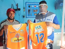 Mueblería Hernández y Sánchez respaldara club 27 Febrero en basket barrial Hermanas Mirabal