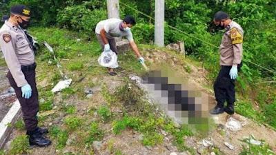 Geger Penemuan Mayat Pria Terbakar di Tompo Ladang Maros, Jalan Poros Bone-Makassar