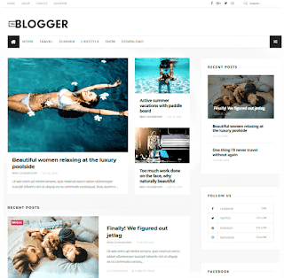 TheBlogger blogger template. TheBlogger blogger template download