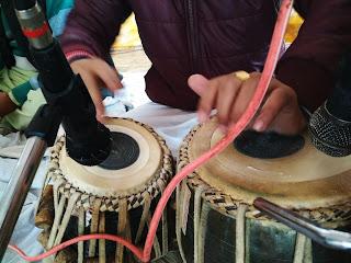 नॉएडा सेक्टर-२२ शिव दुर्गा धाम मंदिर में रामायण पाठ के कार्यक्रम का आयोजन हुआ - १२