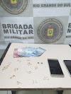 Dupla é presa por tráfico de drogas no bairro Vista Alegre em Cachoeirinha