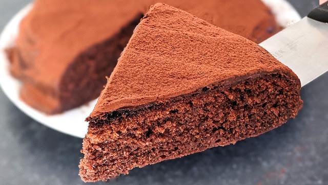recette, gâteau chocolat, chocolat, gateau maison, sans four, rapide, un jour une recette