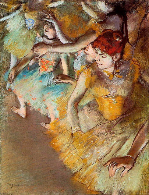 Эдгар Дега - Балет на сцене (1883)