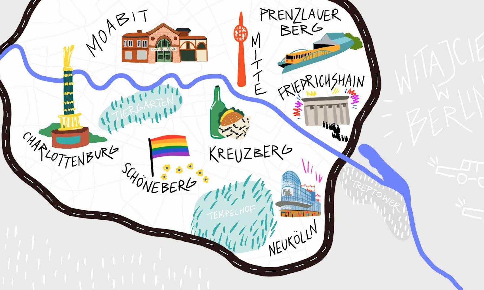 DZIELNICE BERLINA — PRZEWODNIK ALTERNATYWNY PO BERLINIE WEDŁUG DZIELNIC