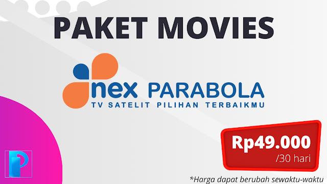 Paket Movies Nex Parabola