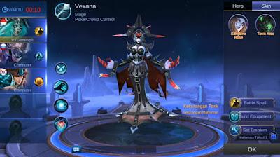 Skin Season 12 Mobile Legends Hero Vexana - Imprisoner