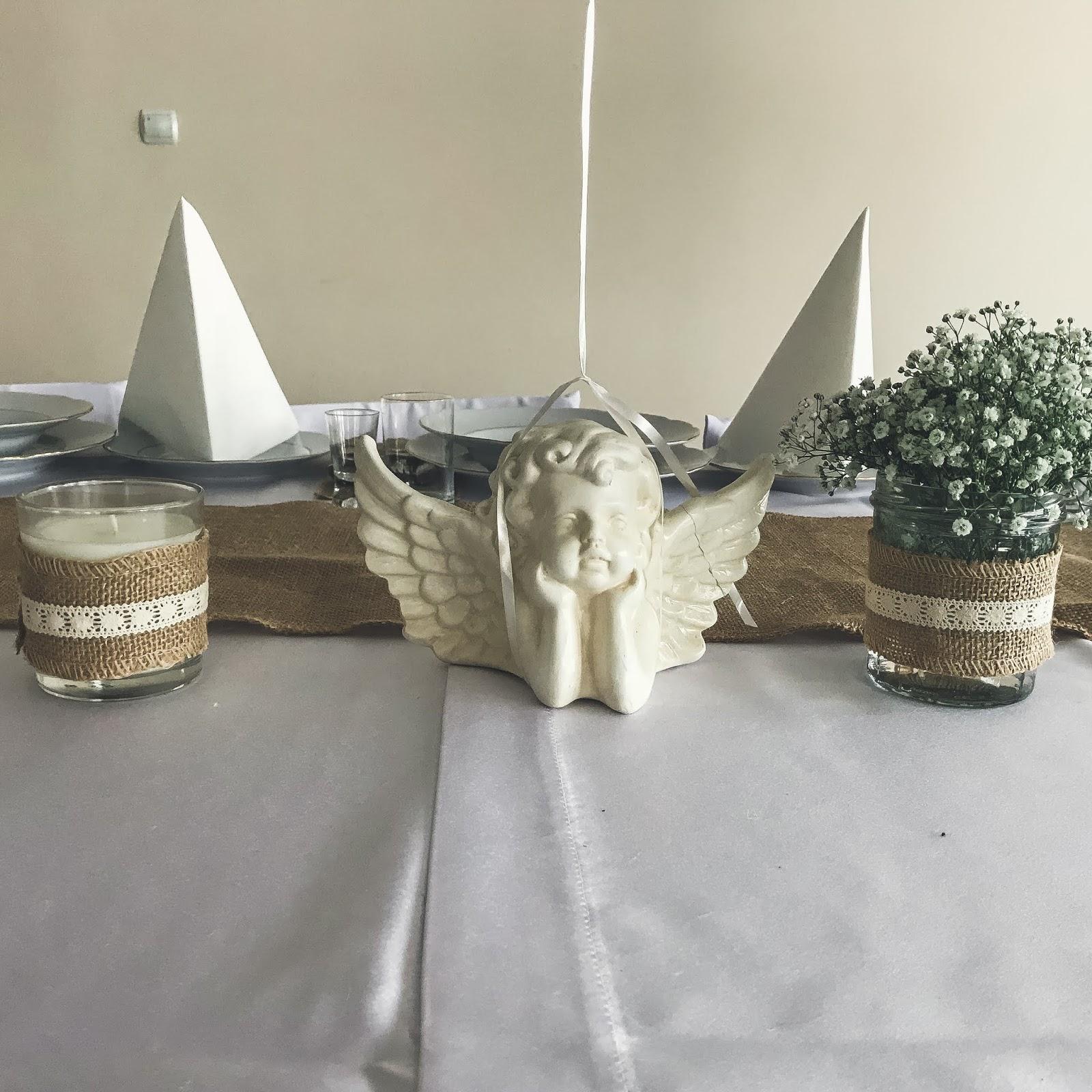 dekoracje ozdoby chrzest święty
