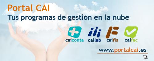 Portal CAI: programas de gestión en la nube