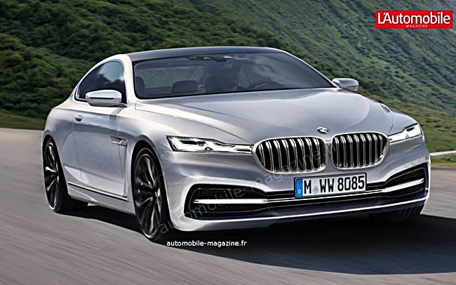 2018 BMW 8 Series Coupe and Cabriolet Rendering