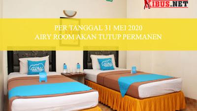 Tak Bisa Bertahan Layanan akomodasi dan wisata Airy Room Akan Tutup Permanen 31 Mei 2020