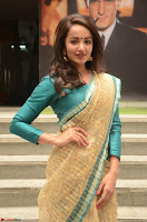 Tejaswi Madivada looks super cute in Saree at V care fund raising event COLORS ~  Exclusive 082.JPG