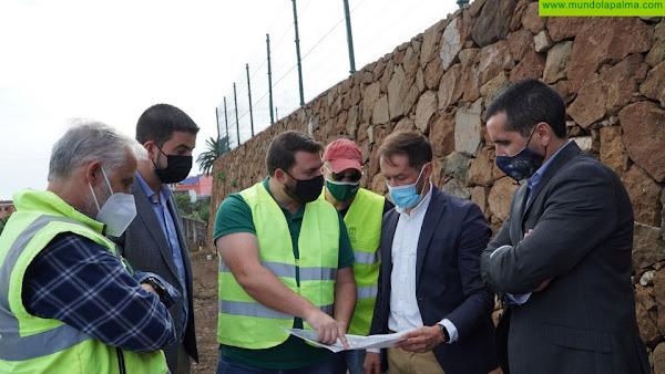 Las obras de la LP-204 El Zumacal mejorará la seguridad de una vía importante para el turismo insular