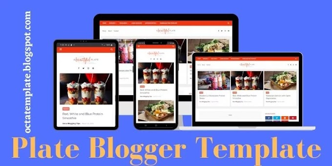Plate Blogger Template   Professional Food & Recipe blogger template