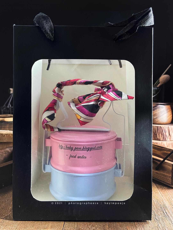 pastel tiffin box