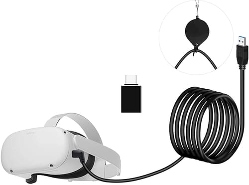 Seltureone Oculus Quest 2 16ft/5m Replacement Link Cable