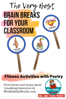 fitness activities, kindergarten, first grade, classroom activities