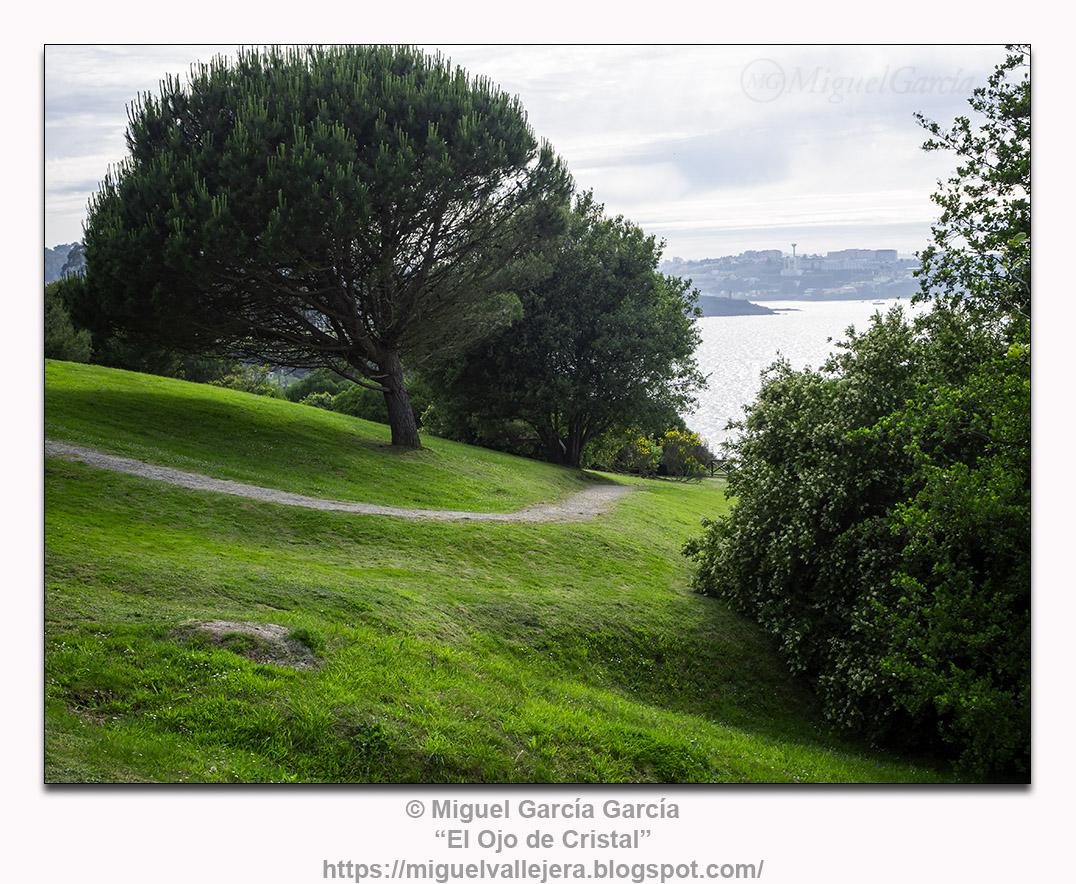"""Parque natural de """"As Galeras"""", O Porto de Santa Cruz, Oleiros (A Coruña)"""