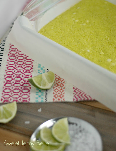 lime margarita cake roll for cinco de mayo dessert