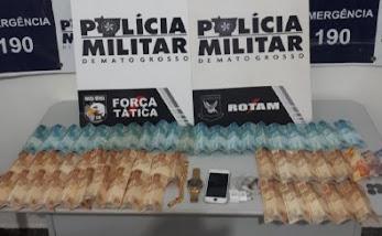 PM prende golpista e recupera R$ 3,7 mil de vítima em Cuiabá