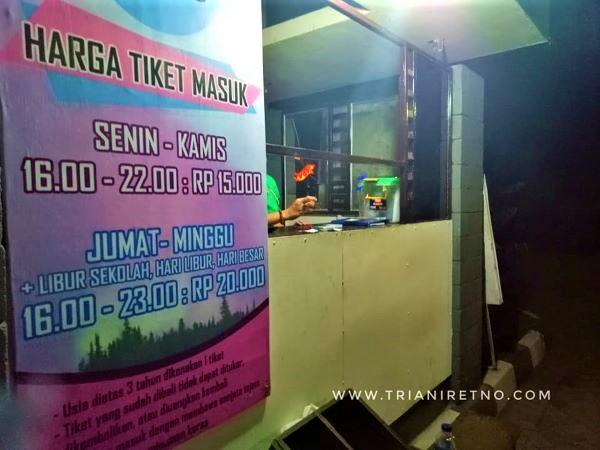 tiket masuk taman pelangi Yogyakarta