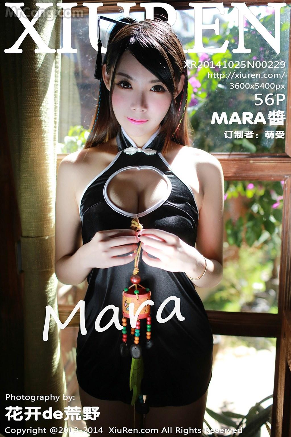 XIUREN No.229: Người mẫu Mara Jiang (Mara酱) (57 ảnh)
