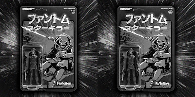 Phantom Starkiller Blacked Out Banshee Edition ReAction Figure by Killer Bootlegs x Super7