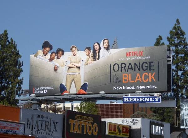 Orange is the New Black season 4 billboard