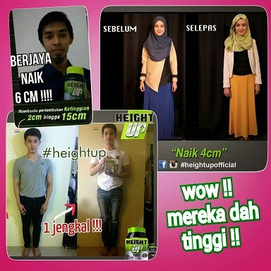 TESTIMONI HEIGHT UP CUSTOMER MUMMYRINAZONE