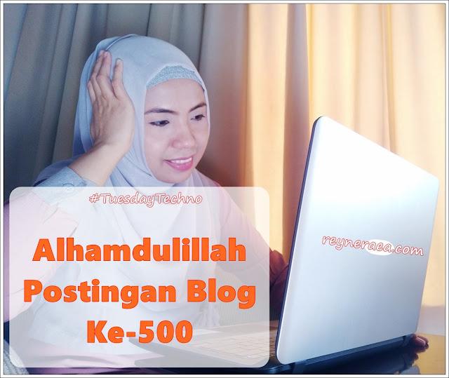 artikel blog ke-500