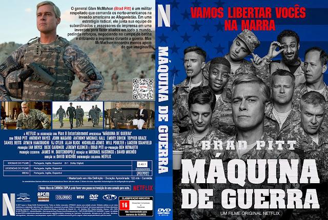Capa DVD Máquina de Guerra [Exclusiva]