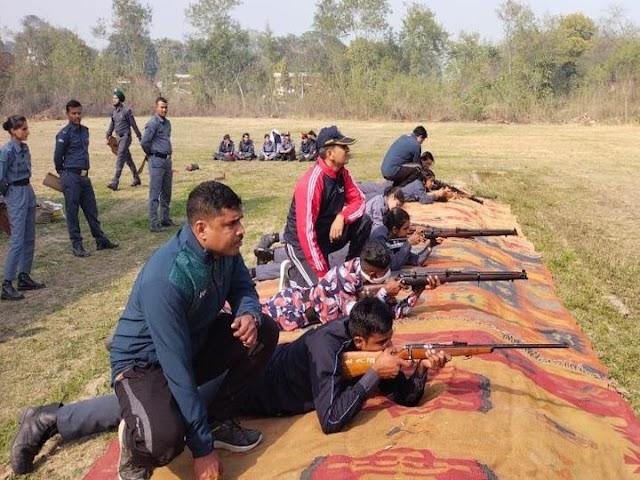 नेशनल कैडेट कॉर्प्स:सैनिक स्कूल कुंजपुरा में 5 दिवसीय NCC कैंप; एयरविंग कैडेट्स ने सीखा हथियार चलाना, और भी कई तरह की ट्रेनिंग