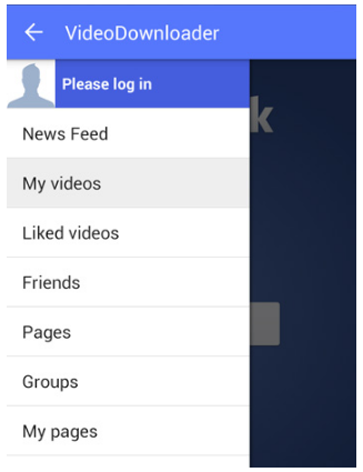 download videos from facebook to my phone