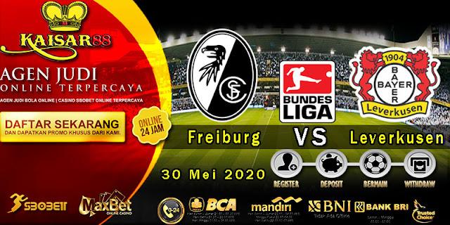 Prediksi Bola Terpercaya Liga Bundesliga Freiburg vs Leverkusen 30 Mei 2020
